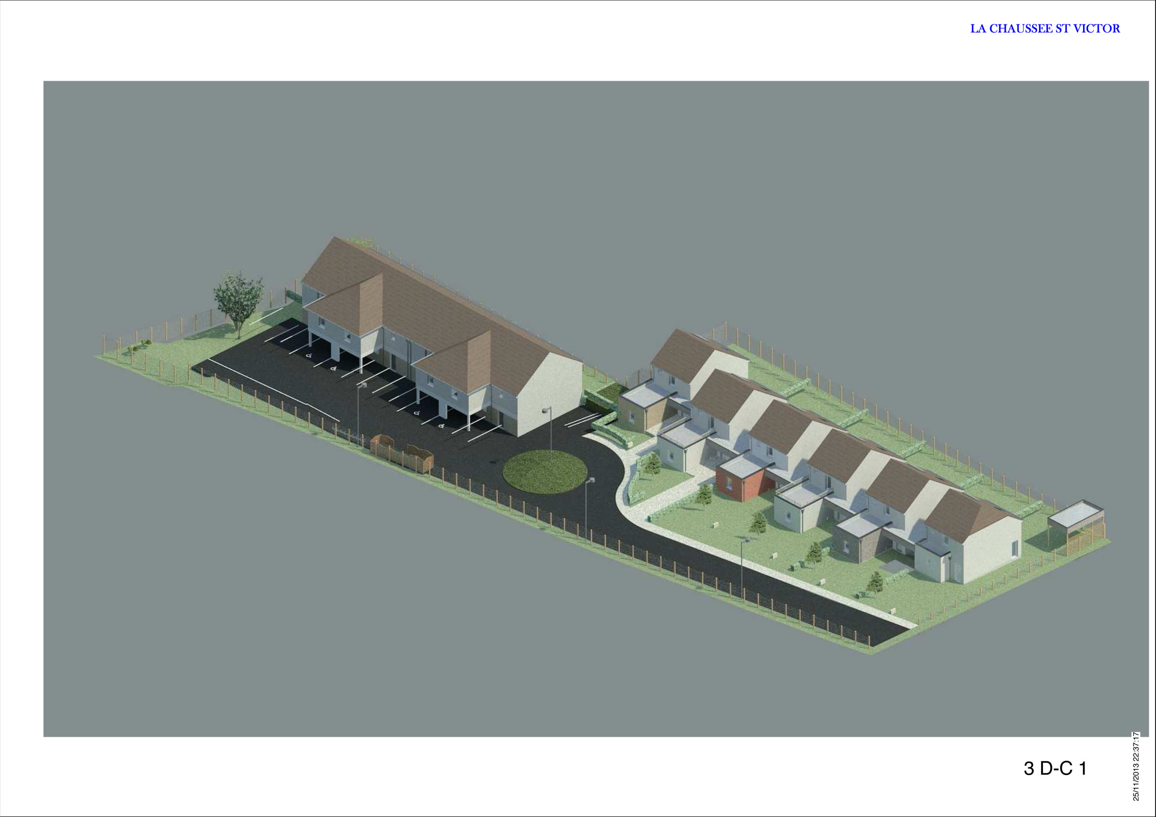 Lcd promotion maison bbc rt2012 loir et cher blois for Amenager jardin 600m2